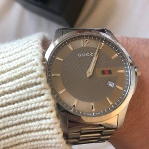 Timeless GG Stainless Steel Gucci Watch Mint Con.